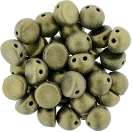 CzechMates Cabochon Metallic Suede - Gold (5 g.)