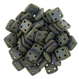 CzechMates QuadraTiles Matte Iris Brown (per 5 gram)