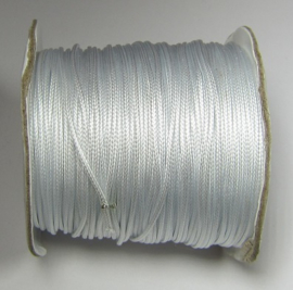 Waxed Cord 1 mm Bright White W148 (1 meter)