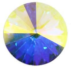 Swarovski Rivoli 12 mm Crystal AB (per 1)