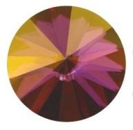 Swarovski Rivoli SS39 8 mm Crystal Lilac Shadow (per 5)