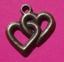 Charm Hearts B1111 K (per 6)