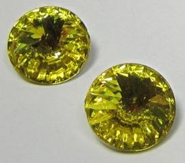 Resin Rivoli 12 mm Yellow (per 3)