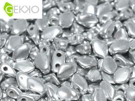 Gekko Bead Aluminium Silver (per 5 gram)