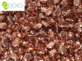 Gekko Bead Crystal Capri Gold (per 5 gram)
