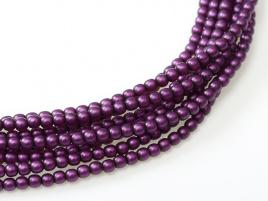 Glasparel Matted Grape Satin 3 mm (per 44 cm streng)