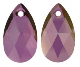 Swarovski Drop 6106 28 mm Crystal Lilac Shadow (per 1)