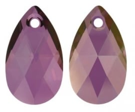 Swarovski Druppel 6106 22 mm Crystal Lilac Shadow (per 1)