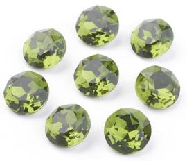 Glass Chaton SS39 Grade A Fern Green (per 3)