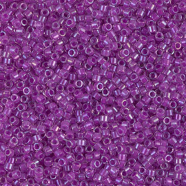DB0073 Magenta Lined Crystal AB (5 g.)
