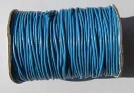 Waxed Cord 1,5 mm Deep Sky Blue W088 (1 meter)