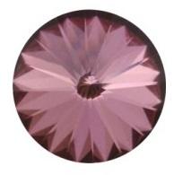Swarovski Rivoli SS39 8 mm Crystal Antique Pink (per 5)