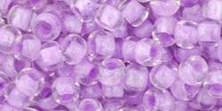 TR-06-943 Inside-Color Crystal/Lilac Lined (per 10 gram)