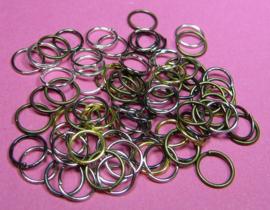 Ring Enkel 7 mm Mix H470 (per 5 gram)