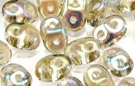 Superduo Bead Black Diamond AB (10 g.)