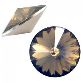 Resin Rivoli 12 mm Greige Opal (per 3)