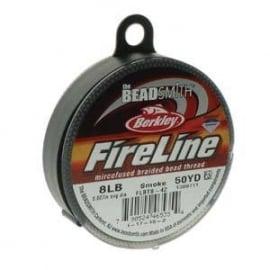 Fireline Smoke 0,22 mm 8 LB (per rol van 45 meter)