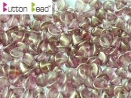 Button Bead Crystal GT Persian Pink (per 16)