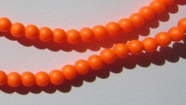 Swarovski Pearl 3 mm Neon Orange (per 25)