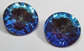 Glass Rivoli 14 mm Crystal Bordeaux DeLite (per 1)