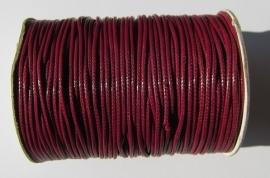 Waxed Cord 1,5 mm Dark Red W092 (1 meter)