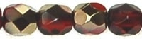 Facet 4 mm Bronze Iris Ruby (per 50)