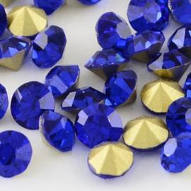 Glass Chaton SS39 Cobalt (per 5)