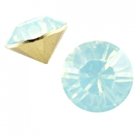 Resin Chaton SS29 Light Blue Turquoise Opal (per 10)