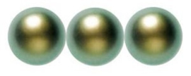 Swarovski Pearls 4 mm Iridescent Green (per 25)