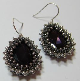 Kit Oorbellen Nala Purple Velvet (Inclusief patroon)