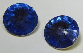 Resin Rivoli 14 mm Sapphire (per 2)
