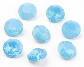 Glas Chaton SS39 A-Kwaliteit Aqua Opal (per 3)