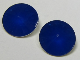 Resin Rivoli 10 mm Royal Blue Opal (per 4)