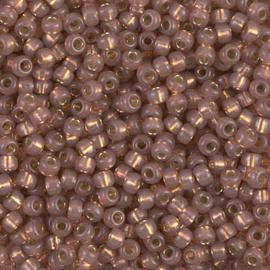 8-0641 Dyed Rose Bronze Silverlined Alabaster (per 10 gram)