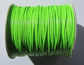 Waxed Cord 2 mm Bright Green W011 (1 meter)