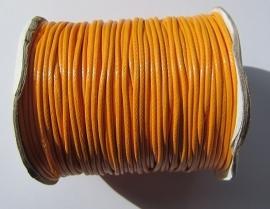 Waxkoord 2 mm Orange W020 (per meter)