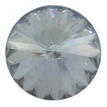 Swarovski Rivoli 12 mm Crystal Blue Shade (per 1)