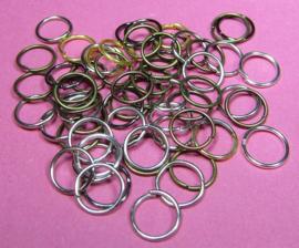 Ring Enkel 8 mm Mix H474 (per 5 gram)