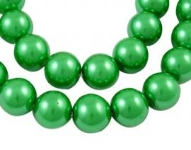 Glass Pearls Bright Green 4 mm Y-4 (80 cm strand)