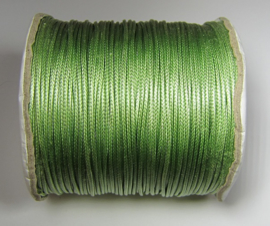 Waxed Cord 1,5 mm Pale Green W130 (1 meter)