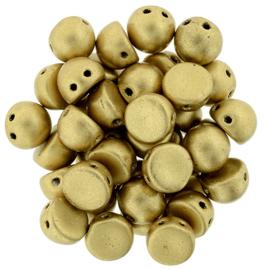 CzechMates Cabochon Matte - Metallic Flax (per 5 gram)