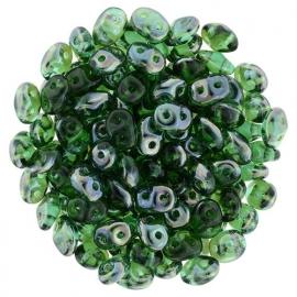 Superduo Bead Emerald - Celsian (10 g.)
