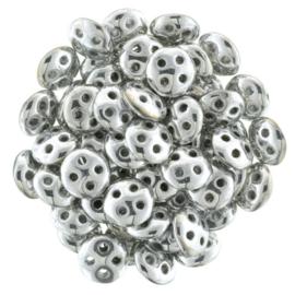 CzechMates QuadraLentils Silver (per 5 gram)