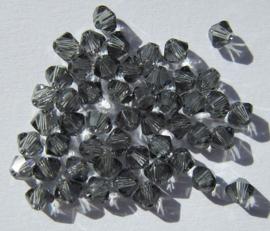 Swarovski Bicone 3 mm Black Diamond (per 50)