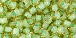 TR-06-945 Inside-Color Jonquil/Mint Julep Lined (per 10 gram)