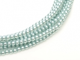 Glass Pearls Baby Blue 2 mm *50 (36 cm strand)