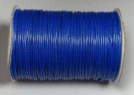 Waxed Cord 1,5 mm Capri Blue W123 (1 meter)
