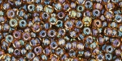 TR-11-276 Inside-Color Rainbow Topaz/Gold Lined (10 g.)