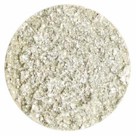 Polaris Cabochon Coin Flat 35 mm Goldstein Cloud Cream White (per 1)