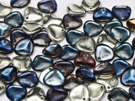 Rose Petals 8 x 7 mm Crystal Bermuda Blue (per 24)